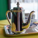 カフェ フラミンゴ - 銀貼(しろがねばり)の急須(きふす)
