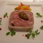 デジーノ - 前菜はイベリコ豚とフォアグラのテリーヌ