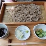 昭和屋 そば琳 - 板蕎麦(1.5食800円)最高です!