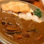 カレー屋丁字 - 野菜カレー