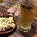 OKINAWA・BAR もにょ - ビールはアサヒ