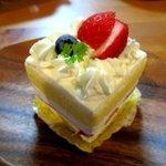 マダム ボンボニエール - 苺のショートケーキ!