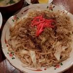 さの食堂 - 料理写真:富士宮やきそば(アップ)