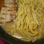 満天家 - 麺、チャーシューアップ