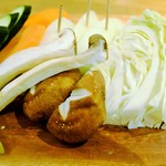 和牛焼肉 Beef Factory73  - 焼野菜盛り