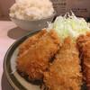 丸栄 - 料理写真:ヒレカツ定食ライス大盛り