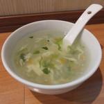 唐苑 - 野菜スープ