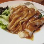 唐苑 - 棒棒鶏丼2