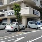 松橋 - 「味噌煮込みうどん」のお店「松橋」さんの外観