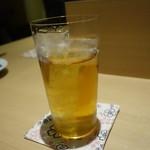 日本酒と焼鳥 百 - ☆烏龍茶で乾杯です☆