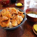つべつ西洋軒 - 豚丼(ロース)