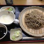 麺工房秋田 - とろろ蕎麦(十割)