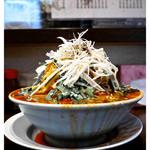 いちのじ食堂 - 「ニラ味噌ラーメン」… かなりのボリュームです!(2016.09)