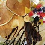 あるうのぱいん - フルーツのパンケーキ