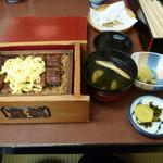 富松うなぎ屋 - 並セイロ、2200円。