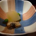 富松うなぎ屋 - 鰻の煮物。