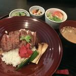 季節の風 蔵 - 島根和牛 ステーキ丼
