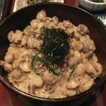 季節の風 蔵 - しじみ丼(アップ)