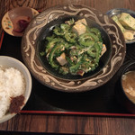 てぃんさぐぬ花 - ゴーヤーチャンプル定食