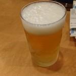 らーめん札幌直伝屋 - ビールだけ(汗)