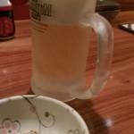 坐・和民 - 生ビール冷え冷え!