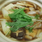 山せみ - 鴨鍋