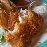 食堂ぬーじボンボンZ - アジフライ