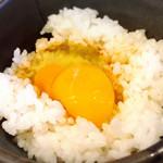 麺屋 史 - 地鶏卵!