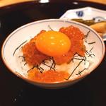 割烹 山路 - ミニイクラ丼