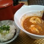 麺屋 波 - カレー茶漬け