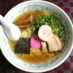 喜多八食堂 - 料理写真:塩ラーメン_550円