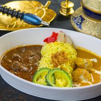 Diletto Curry Via - 相がけカレー