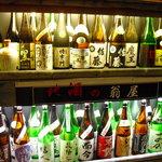 翁屋 - 【2010.11. 再訪】 翁屋の日本酒 中には売りきれもアリ