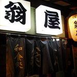 翁屋 - 【2010.11. 再訪】 翁屋のれん 昭和感あるでしょ