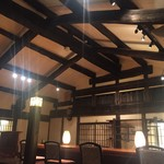 旬味そば 名倉 - 2階席です☆