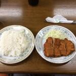 宝来亭 - カツライス(並)