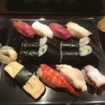 芳寿司 - にぎり特盛りセット