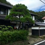 だいまるしょうゆ カフェ - 豪華な日本家屋の外観(中は居酒屋さんの雰囲気 笑)