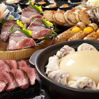 定番鶏料理から創作まで鶏料理の数々・・・・