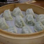 鼎泰豊 - 野菜と豚肉入り蒸し餃子