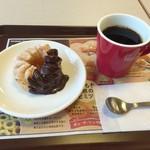 ミスタードーナツ - 料理写真:エンゼルフレンチとブレンドコーヒー
