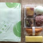 まるやま千栄堂 - 料理写真:包装紙と購入商品