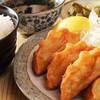 餃子の唐揚げランチ(4個)