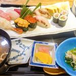 寿司 高瀬 - 小鉢や温泉卵も!