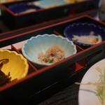 キッチンくま - 定食の小鉢