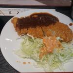 キッチンくま - 味噌カツ定食