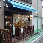 KABOCHA - お店は住宅街の中にあります。可愛らしい外観♪