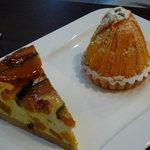KABOCHA - カボチャのチーズケーキとカボチャのモンブラン♪
