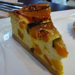 KABOCHA - カボチャのチーズケーキ♪カボチャの角切りがごろごろ入ってます。