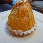 KABOCHA - 料理写真:カボチャモンブラン(380円)♪甘さ控えめ。